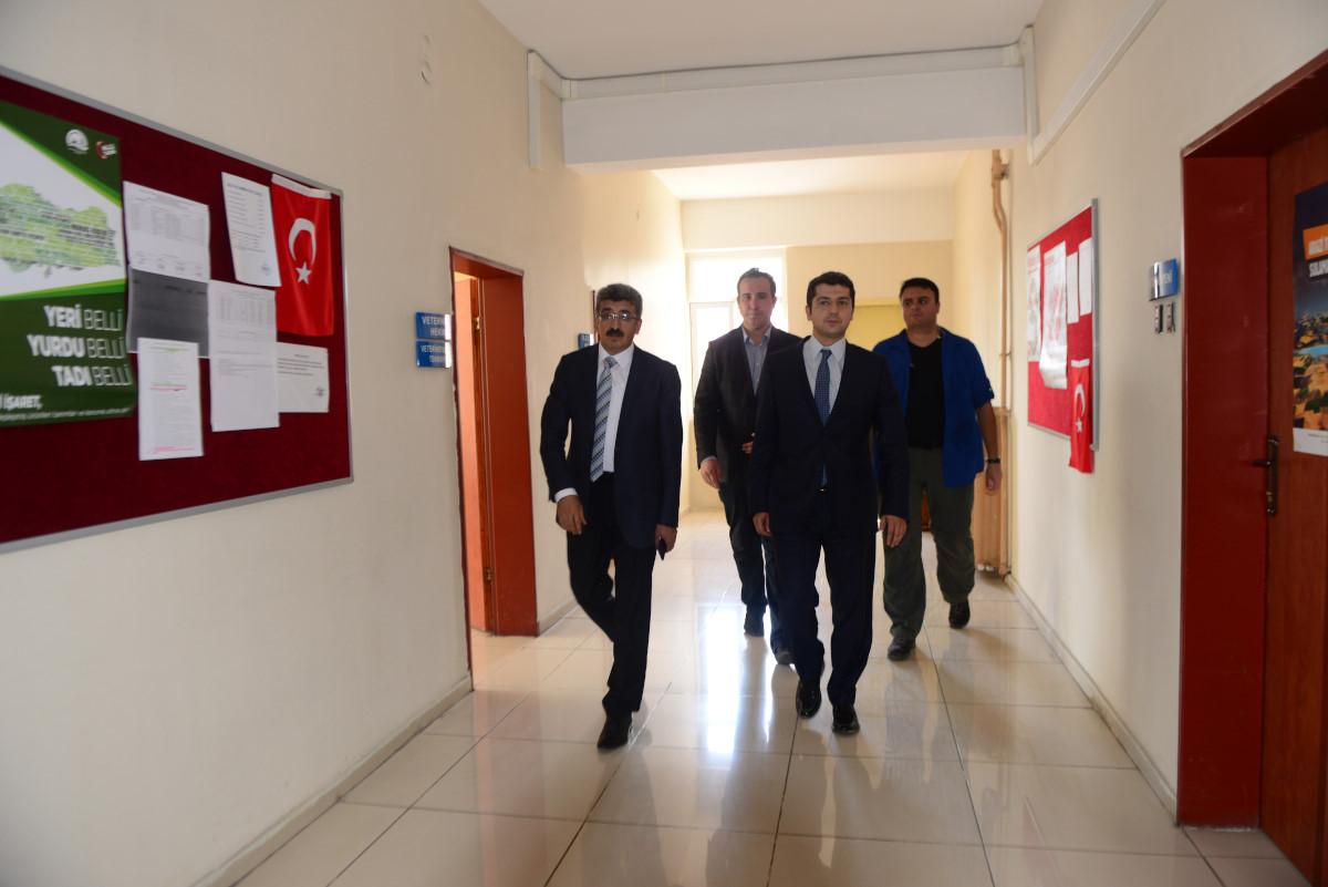 VALİ BİLMEZ, DAMAL KAYMAKAMLIĞI'NI ZİYARET ETTİ (11.08.2017)